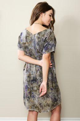 Iris V-neck Dress