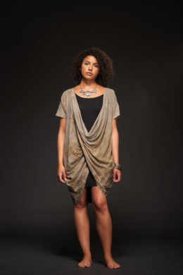 Ivi Twisted Tunic-Dress